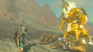 We Give A Gold Lynel his Weapons back - Zelda Breath of the Wild