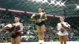 Ladies' Award Ceremony - 1992 Albertville, Figure Skating