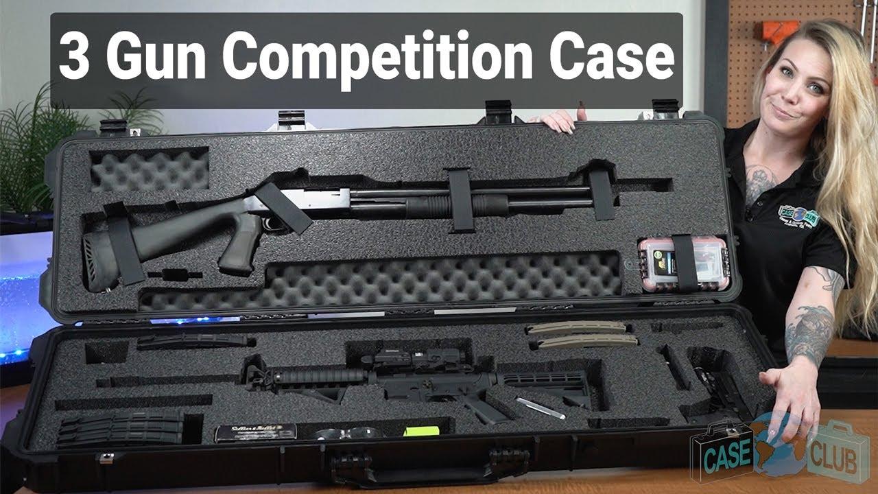 Case Club 3 Gun Competition Case - Video