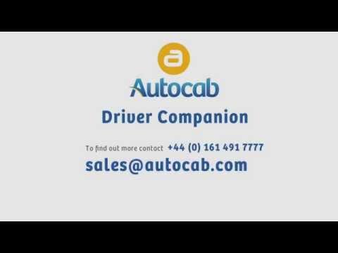 Autocab New Driver Companion