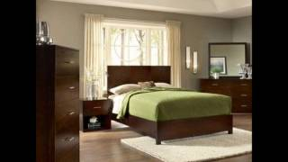 Modus Furniture International Modera Panel Bed, California King, Chocolate Brown