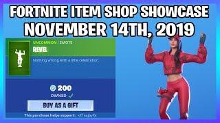 REVEL IS BACK! (Fortnite Item Shop 14th November)