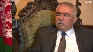 Gen Dostum Slap Dr. Abdullah- سیلی محکم جنرال دوستم به روی دکتر عبدالله