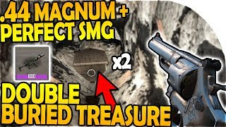 .44 MAGNUM + PERFECT SMG! - DOUBLE BURIED TREASURE! - 7 Days to Die Alpha 16 Gameplay Part 43 (S2)