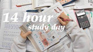 14 HOUR STUDY DAY