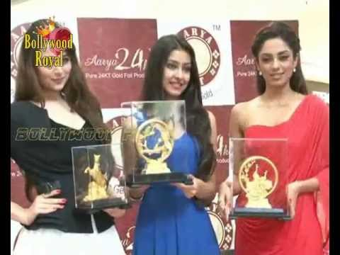 Femina Ms  India  at grand launch of exclusive 24kt Gold Foil Windows 1