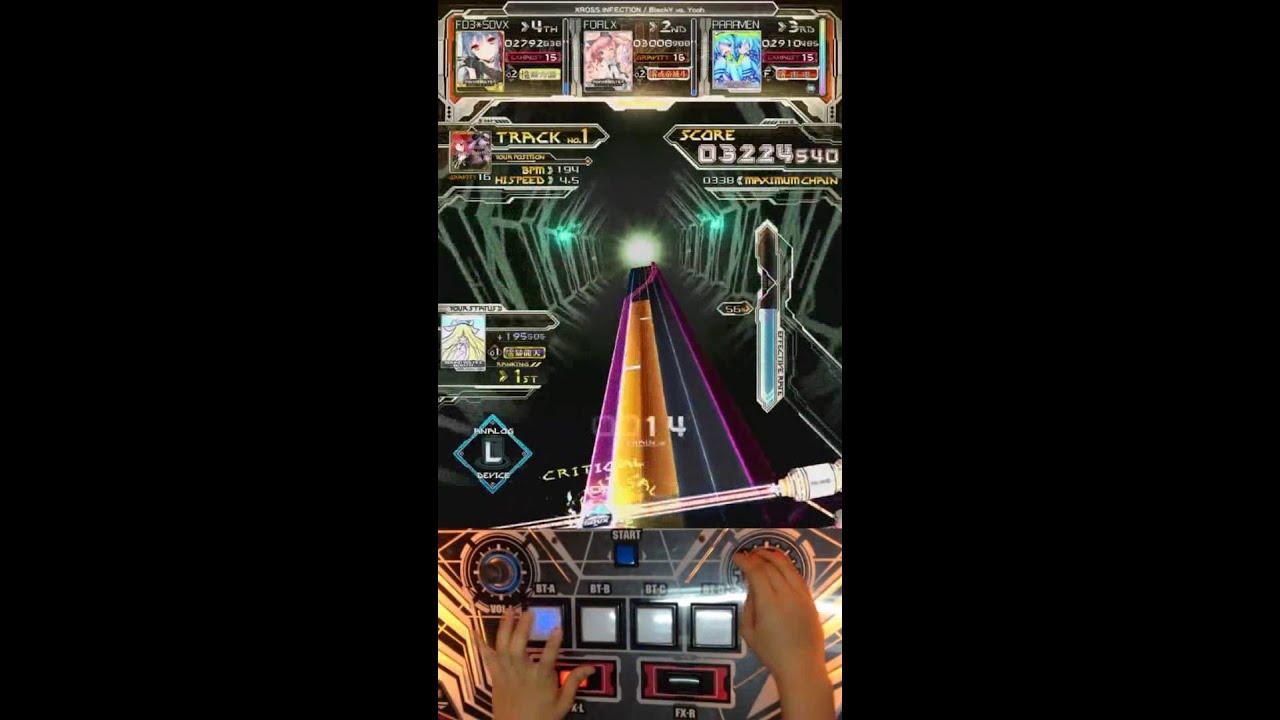 Sound Voltex 3 Gravity Wars - Cyberman - Arcade Punks