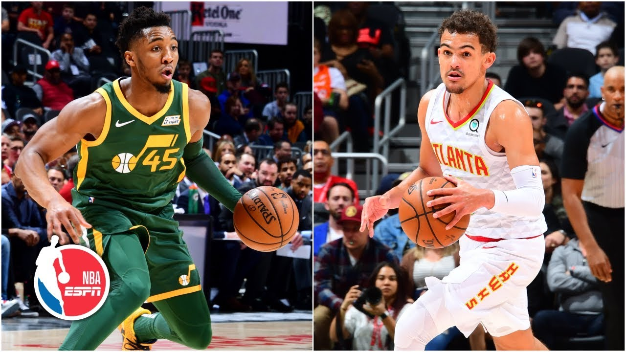 Trae Young and the Hawks stop the streaking Jazz with a 117-114 win   NBA Highlights