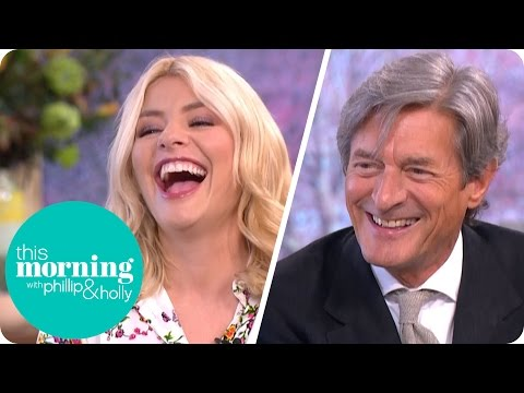 Nigel Havers Gets Flirty With Holly on the Sofa  This Morning