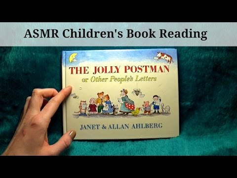 Asmr the jolly postman childrens book reading most popular videos solutioingenieria Image collections