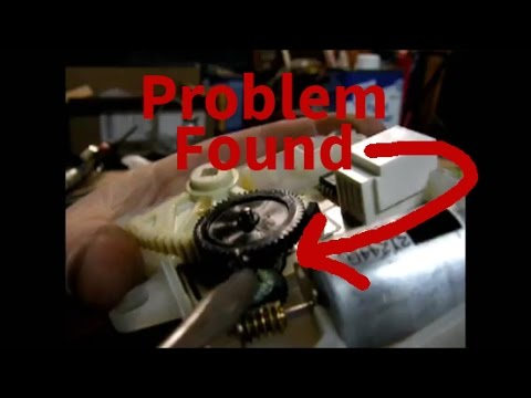 Ford - NO Heat/AC FIX - Heater Blend Door Actuator fix (2007 Ford Explorer)