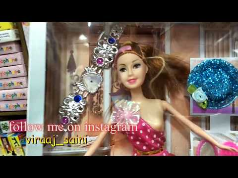 BARBIE DOLL || SOFT TOYS WHOLESALE MARKET WHOLESALE AND RETAIL ALL KIND OF STUFF TOYS.. SADAR BAZAR