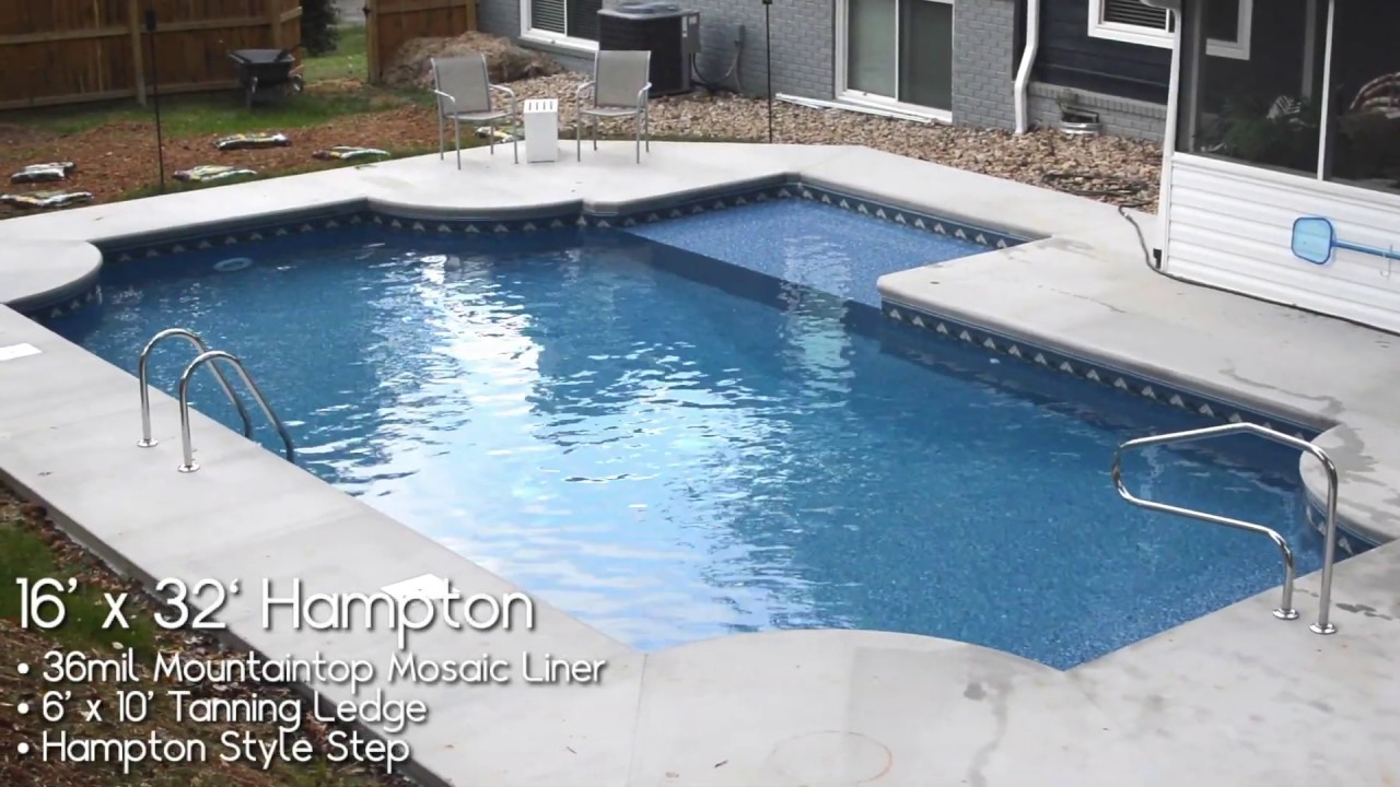 Hampton Style In-Ground Swimming Pool Kit From Pool Warehouse!