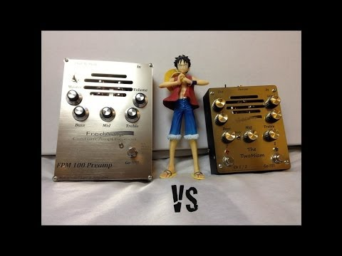 FredAmp FMP100 Preamp VS The Two Miam
