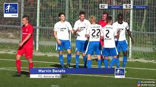 A-Junioren - 5:2 - Marvin Benefo - FC Astoria Walldorf gegen Offenburger FV