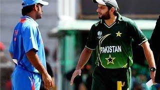 dhoni vs Shahid Afridi unseen fight