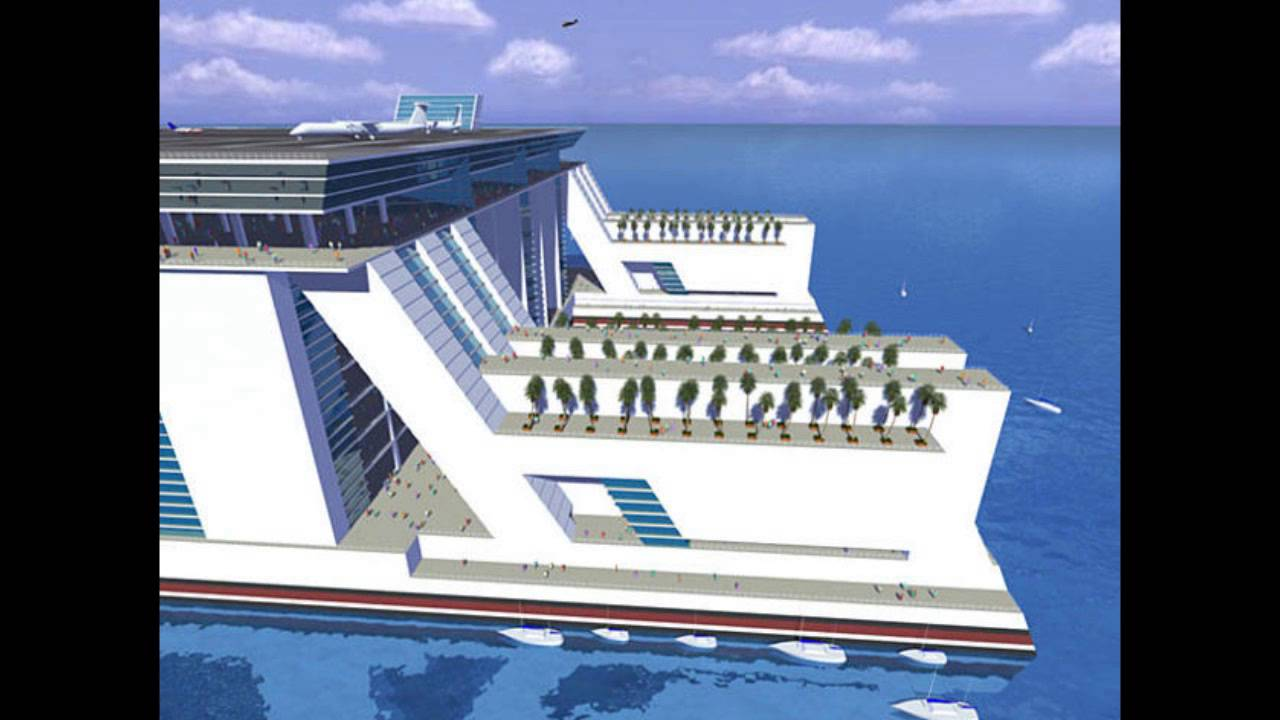 worlds first floating city the freedom ship which will be