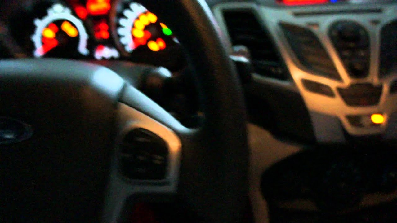 maxresdefault 2012 ford fiesta interior illumination youtube  at n-0.co