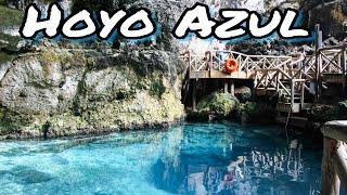 Hoyo Azul: Blue Hole at Scape Park Cap Cana Dominican Republic