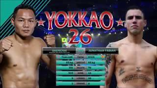 "YOKKAO 26: Saenchai PKSaenchaiMuayThaiGym vs Jonathan ""Scarface"" Fabian (65kg)"