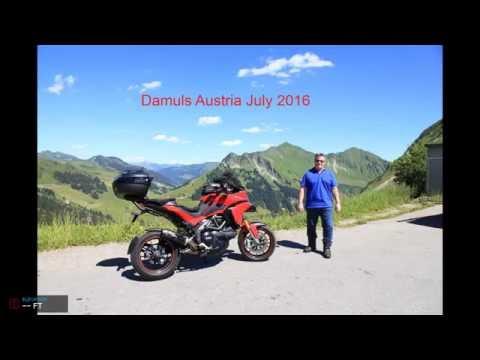 Damuls Austria 2016 on a Ducati