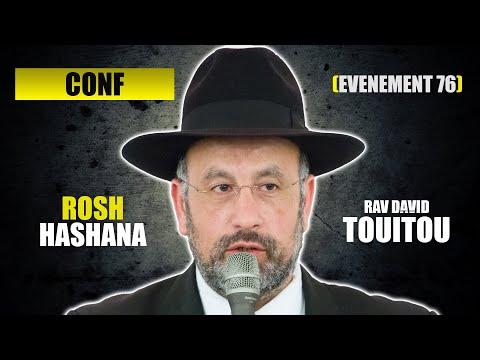 RAV TOUITOU - ROSH HASHANA