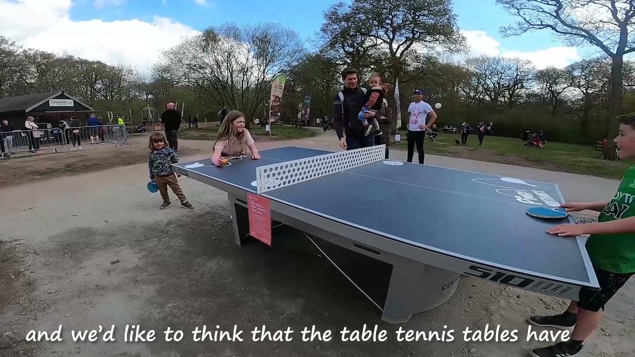 Table Tennis in Nature: Mental Health Awareness Week 2021
