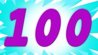 رقم الأغنية أرقام للأطفال تعلم الأرقام| One to Hundred Numbers | Kids TV Rhymes | Numbers Song
