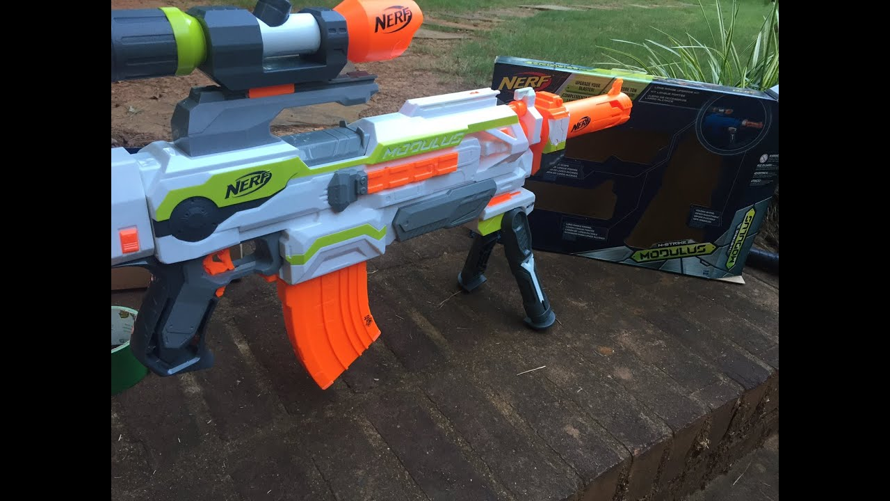 complete nerf modulus range upgrade kit review and unboxing