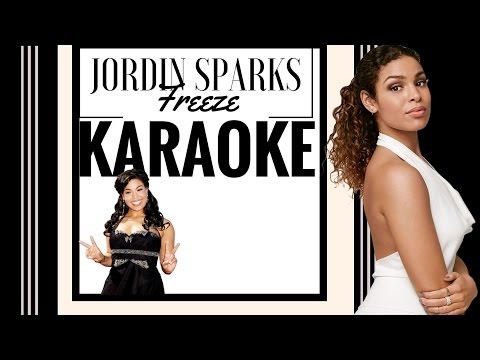 Jordin Sparks  Freeze Karaoke