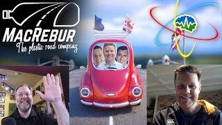 MacRebur - The Plastic Road Company! Interviewing Toby McCartney