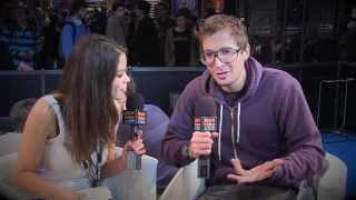 Gonzague interviewé par Jvcom à la Paris games Week