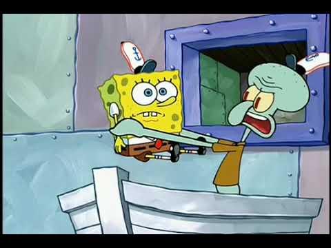 Spongebob Squarepants Back In The Kitchen Youtube