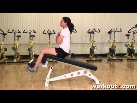 Declined Bench Sit-ups - Ab Workout
