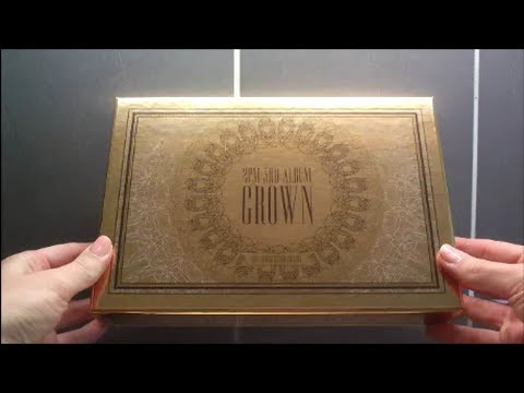 Unboxing 2PM 3rd Album Grown Grand Edition (Vol.3 Repackage)