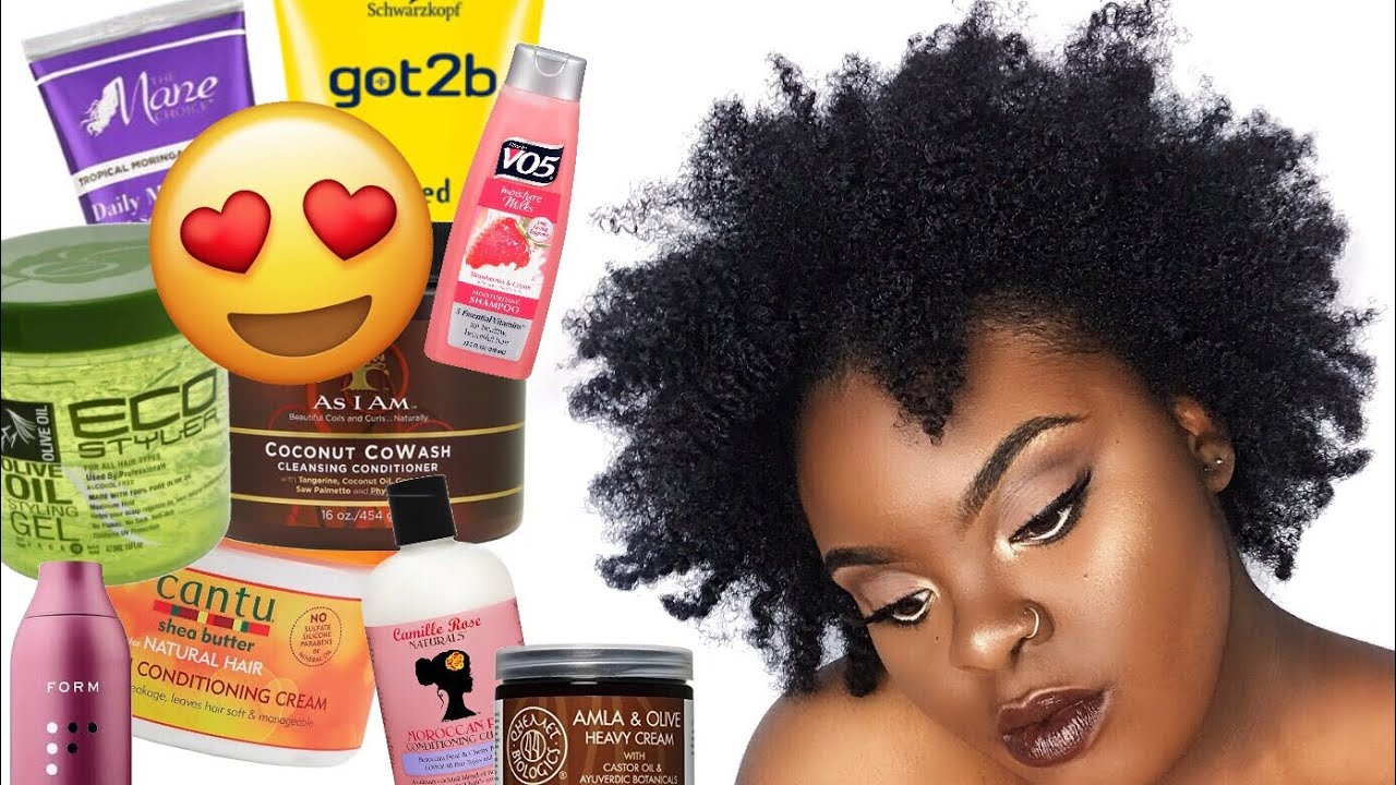 The Best Products For 4c Hair My Natural Hair Favorites