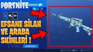 SKİNLERİNİ WEAPONS and CAR legend SIR FORTNİTE 7. SEASON Fortnite Turkish Battle Royale SKINS