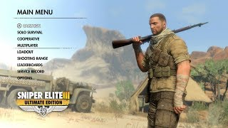 Sniper Elite 3 Ultimate Edition for Nintendo Switch | First 12 Minutes of Gameplay (Direct-Feed)