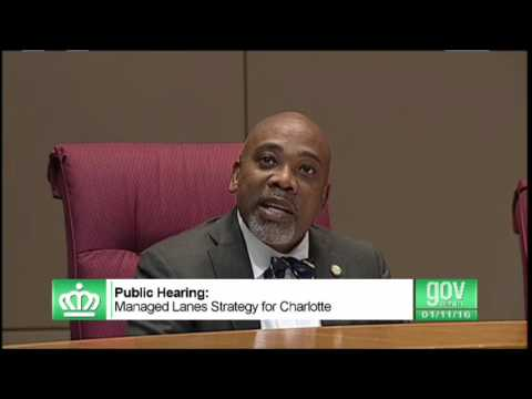 Charlotte Councilman Al Austin Wants To Ship The I 77 Toll Lanes
