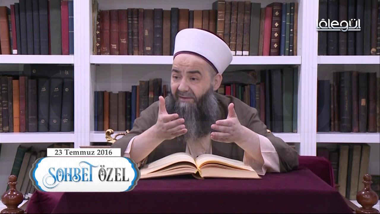 23 Temmuz 2016 Tarihli Darbe Sohbeti - Cübbeli Ahmet Hoca Lâlegül TV