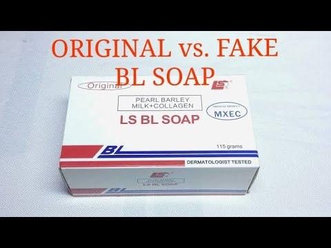Ls Bl Soap Fake Vs Original How To Identify Bl Soap If It S
