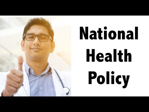 (ENGLISH) NEW National Health Policy, 2017 - Detailed Analysis for IAS/UPSC