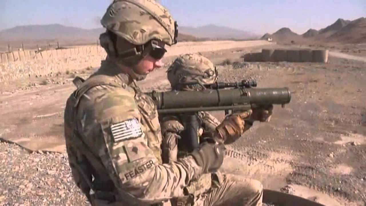 Firing the M3 MAAWS -The M3 Multi-role Anti-armor Anti-tank Weapon System