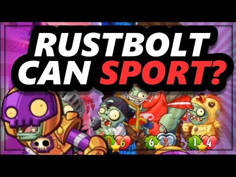 Super Weird Rustbolt Sports Deck WORKS! | Plants vs. Zombies: Heroes Gameplay