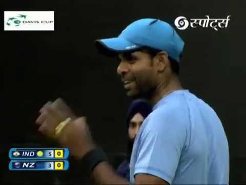Davis Cup 2017 | Paes/Vardhan vs Venus/Sitak |  INDvNZ