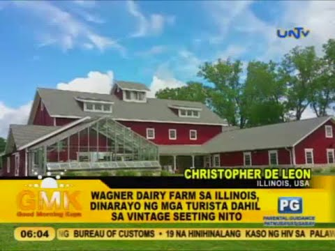 Illinois' Wagner Dairy Farm and its vintage setting
