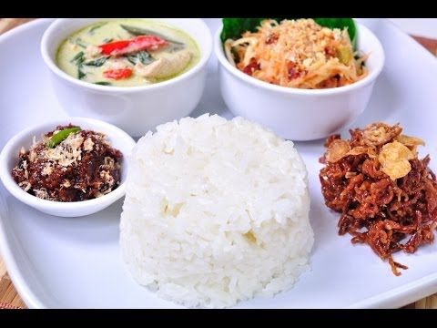 Thai Food – Coconut Rice (Kao Mun)