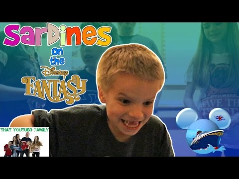 Sardines on a Disney Cruise Ship - Hide and Seek / That YouTub3 Family