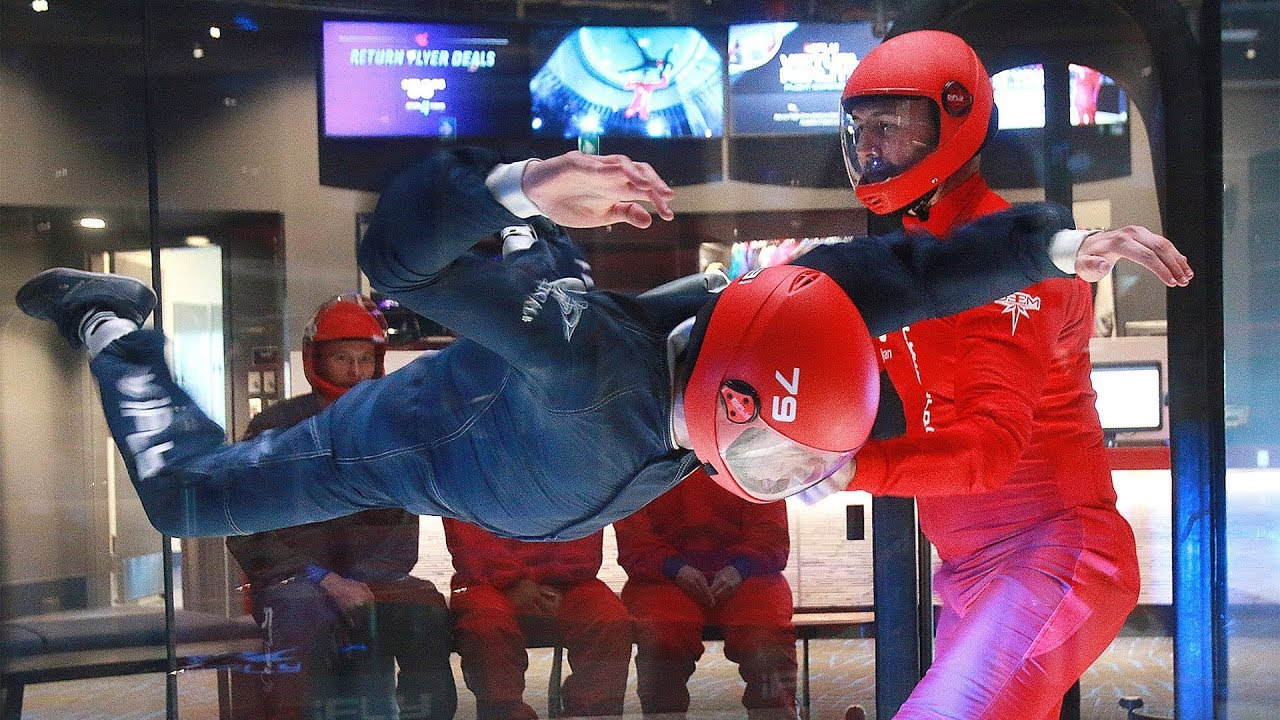 Reporter spreads wings at indoor skydiving centre | Calgary