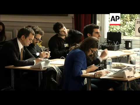 The French Interior Ministry poised to release voter turnout figures